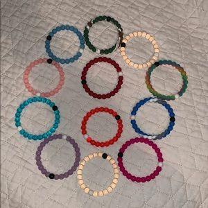 12 Lokai Bracelets